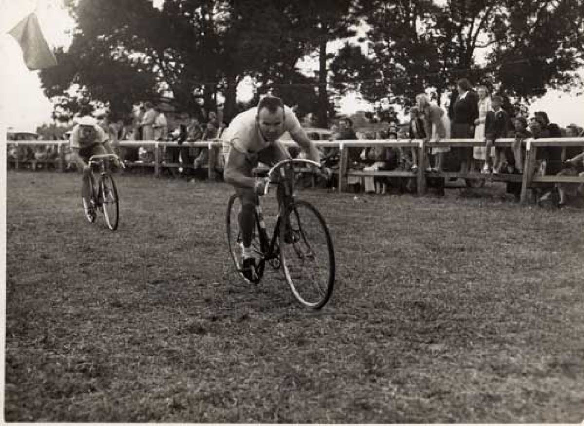 First Banana Festival Cycle Race 1955.