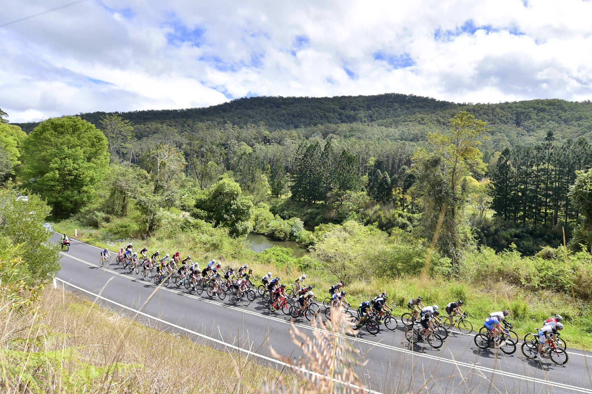 During 2015 National Masters Championships RR at Tweed Valley Road, Potsville, NSW, Australia on 26/09/2015. Image rights: Niels Juel, Veloshotz, \